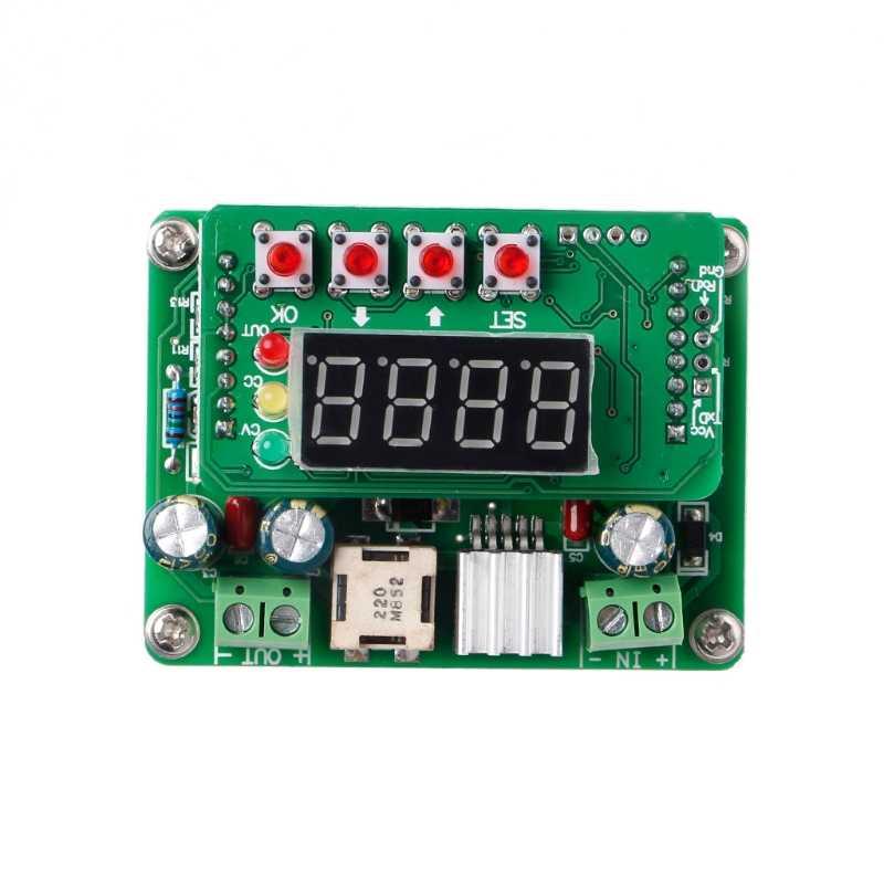 Thông Minh Điện Tử B3603 NC DC Điều Chỉnh Bước Xuống Điện Áp Mô Đun Ampe Kế 36V3A108W Sạc