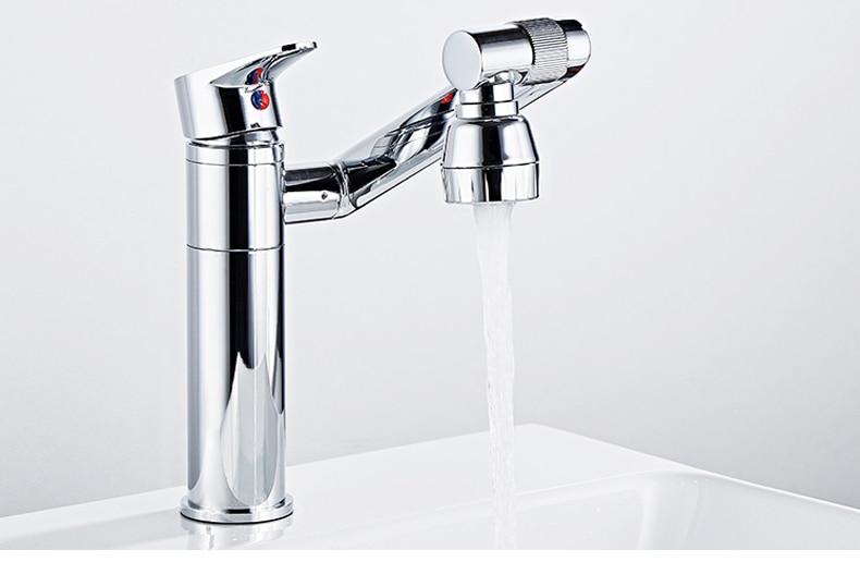 Hc1d6654923464fc9a1fc0460f8df40b8y ELLEN Multifunction Bathroom Sink Faucet Hot Cold Water Mixer Crane Antique Bronze Deck Mounted Universal Water Taps EL1326