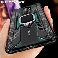KEYSION Stoßfest Fall für Redmi Hinweis 8 Pro 8T 9S 9 Pro Max 7 K30 K20 Telefon Abdeckung für Xiaomi Mi 10 9T 9 Lite A3 X3 NFC F2 Pro