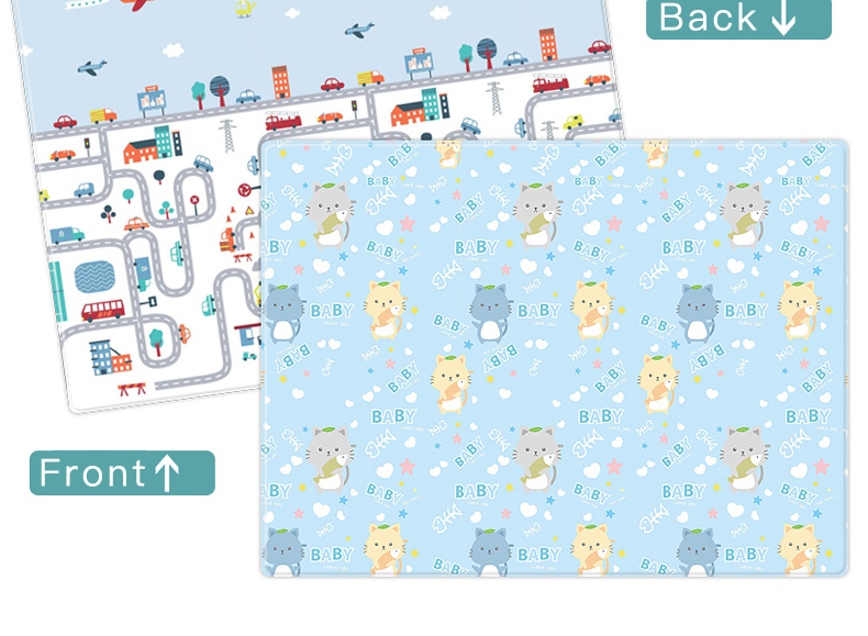 Hc1d6b55b13a94ec7b1a31beecd0450e7g Miamumi Portable Baby Play Mat XPE Foam Double Sided Playmat Home Game Puzzle Blanket Folding Mat for Infants Kids' Carpet Rug