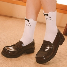 2021 Woman Socks Cartoon cat Socks Lolita Short Socks Cosplay Costumes Accessories white Socks Sweet Girl Gift
