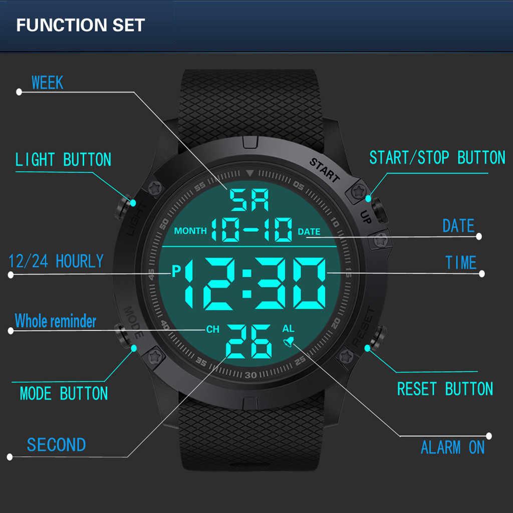 2020 LED Electronic Sports Sensore Luminoso Orologi di Moda Gli Uomini e Le Donne Orologi Classici Regali di Nuovo di Stile di Sport Della Vigilanza