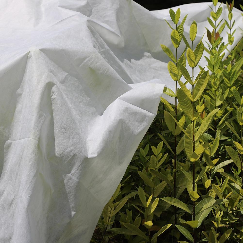 3/7 cubierta para el cuidado de las plantas de 5M red de malla de jardín Anti-pájaro invernadero pájaro Control de Plagas Flor de fruta vegetal protección Mini invernadero cobertizo jardín invernadero exterior hogar aislamiento plantación invernadero 3 tamaños