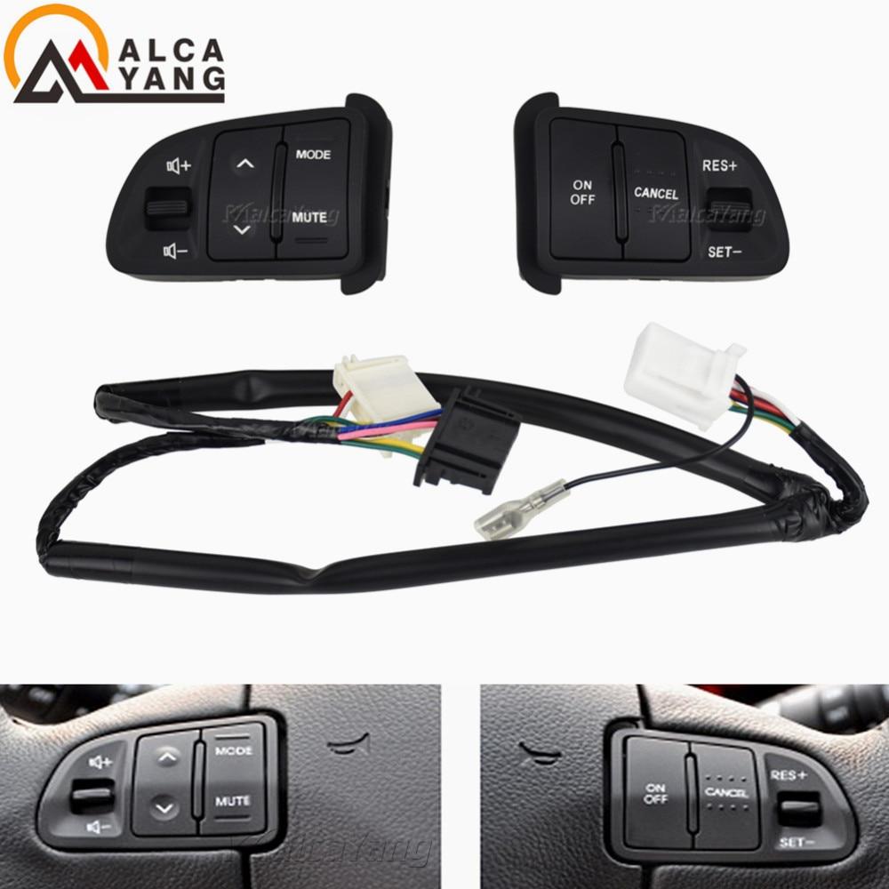 Кнопка управления на руль для KIA Sportager, аудиоканал на руль и Кнопка круиз-контроля с постоянной скоростью, переключатель громкости
