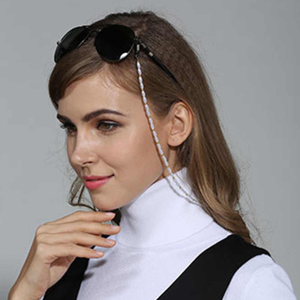 ファッションレディースキャンディーアクリルビーズ眼鏡チェーンサングラス老眼鏡チェーン Eyewears コードホルダーネックストラップロープ