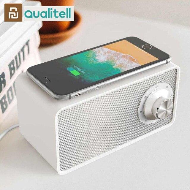 Youpin Qualitell Bluetooth Speaker Wireless Charger White Noise Speaker New BLT5.0 EPP 10W Fast Charging Sleep Speaker