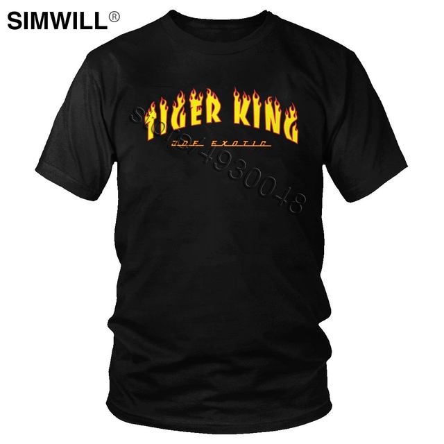 Tiger King Joe Exotic Tee Men Short Sleeve O-neck Election For President T Shirt Fashion Brand Streetwear T-shirt Apparel Gift 1