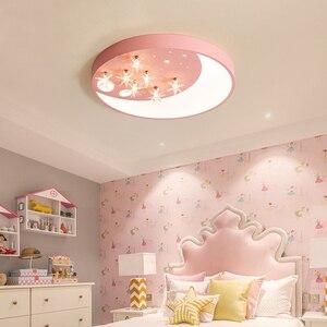Nordic led ferro arte lâmpada do teto quarto sala de estudo luzes de teto iluminação decoração teto bonito crianças sala estar luz teto