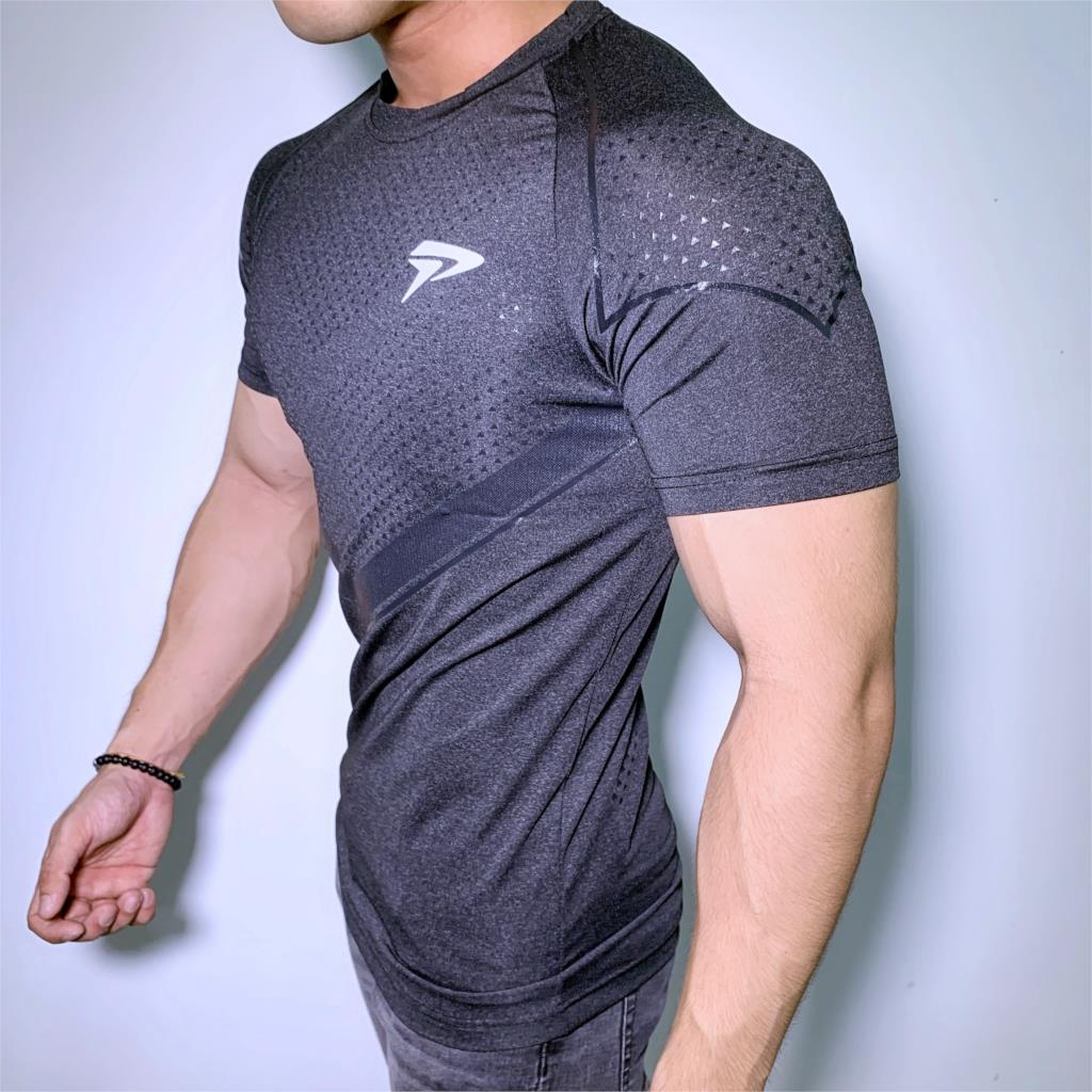 New Mens Compression Skinny T-shirt Gyms Fitness Bodybuilding t shirt Male Summer Casual Jogger Workout Tee Tops Brand Clothing 5