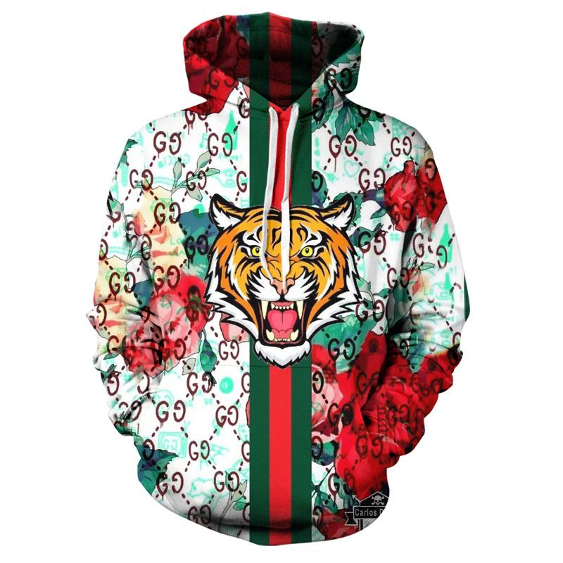 2020 new trend 3D hoodie creative art style spring and autumn fashion Hoodie cartoon trend handsome top XXS-6XL