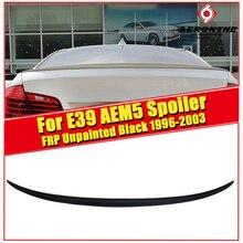 E39 Sedan duckbill Spoiler Wing FRP Unpainted AEM5 Style For BMW 5 series 525i 530i 540i 545i Car Rear Lip 1996-2003