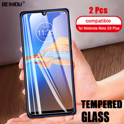 На Алиэкспресс купить стекло для смартфона 2 pcs full tempered glass for motorola moto e6 plus screen protector 2.5d 9h tempered glass for motorola e6 plus protective film