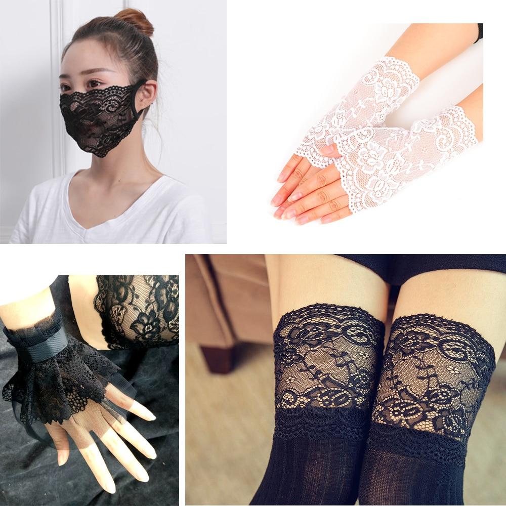 σBig SaleUnderwear Lace-Ribbon Crafts-Fabric Lingerie White for Dress Shorts Clothing-Decoration