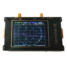 3G Vector Network Analyzer HF VHF UHF Antenna Analyzer Digital LCD Display Touching Screen Standing Wave for S-A-A-2 Nano VNA V2(China)