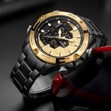 KADEMAN Men Fashion Full Steel Sport Watch (5 colors)