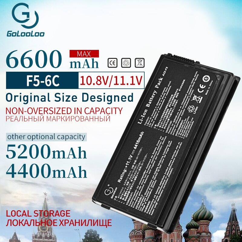 4400mah 11.1v 6 Cells Laptop Battery For Asus A32-F5 F5 F5GL F5C F5M F5N F5RA F5RI F5SL F5Sr F5V F5VI F5VL X50RL X50SL X50V X59