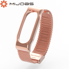 Mi band 2 metal strap for xiaomi mi band 2 bracelet Screwless Stainless Steel for xiaomi miband band 2 Wristbands Accessorie
