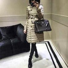 KMETRAM, осенне-зимнее пальто, женская мода, ультра тонкий пуховик, женская одежда,, элегантная длинная парка, Doudoune Femme Hiver 07788