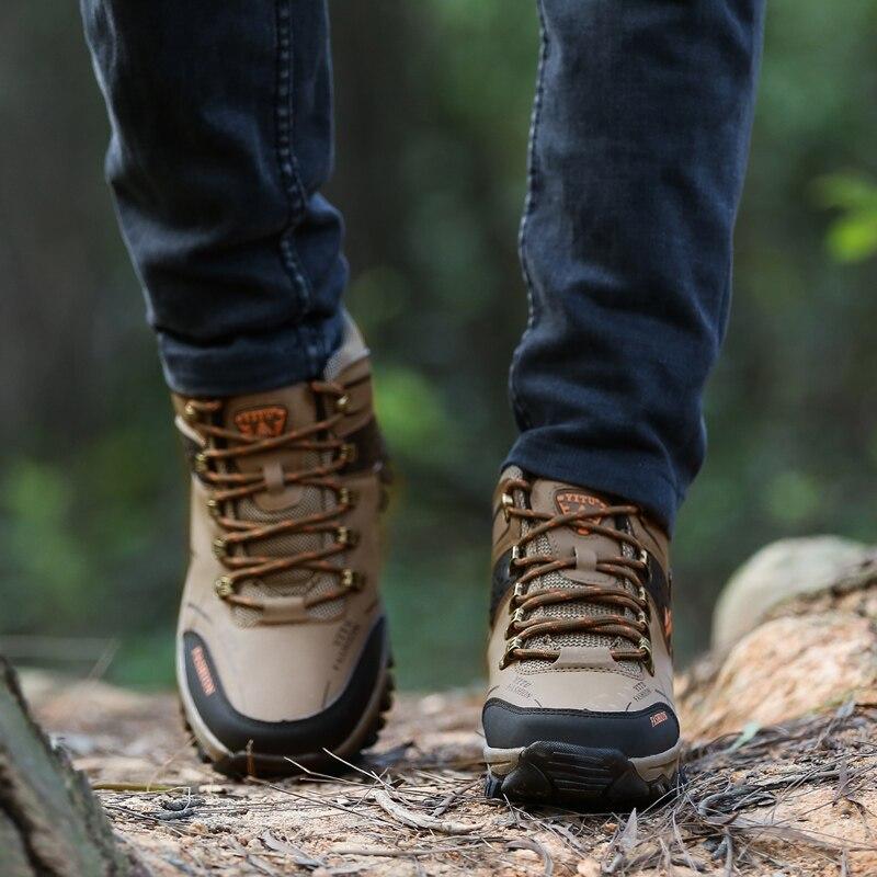 superior dos homens caminhadas botas de trekking