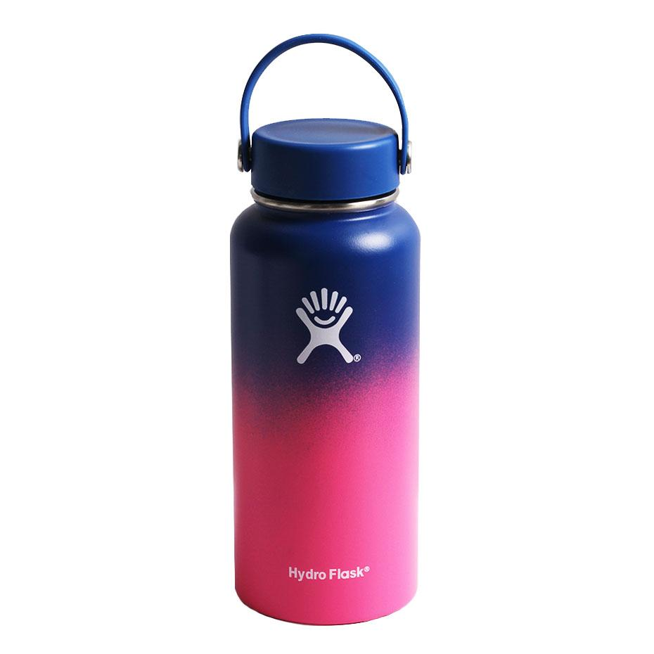 2020 New Hydro Flask Water Bottle with Straw Hydroflask Stainless Steel Water Bottles 18/32oz Outdoors Sports Drink Bottle 4