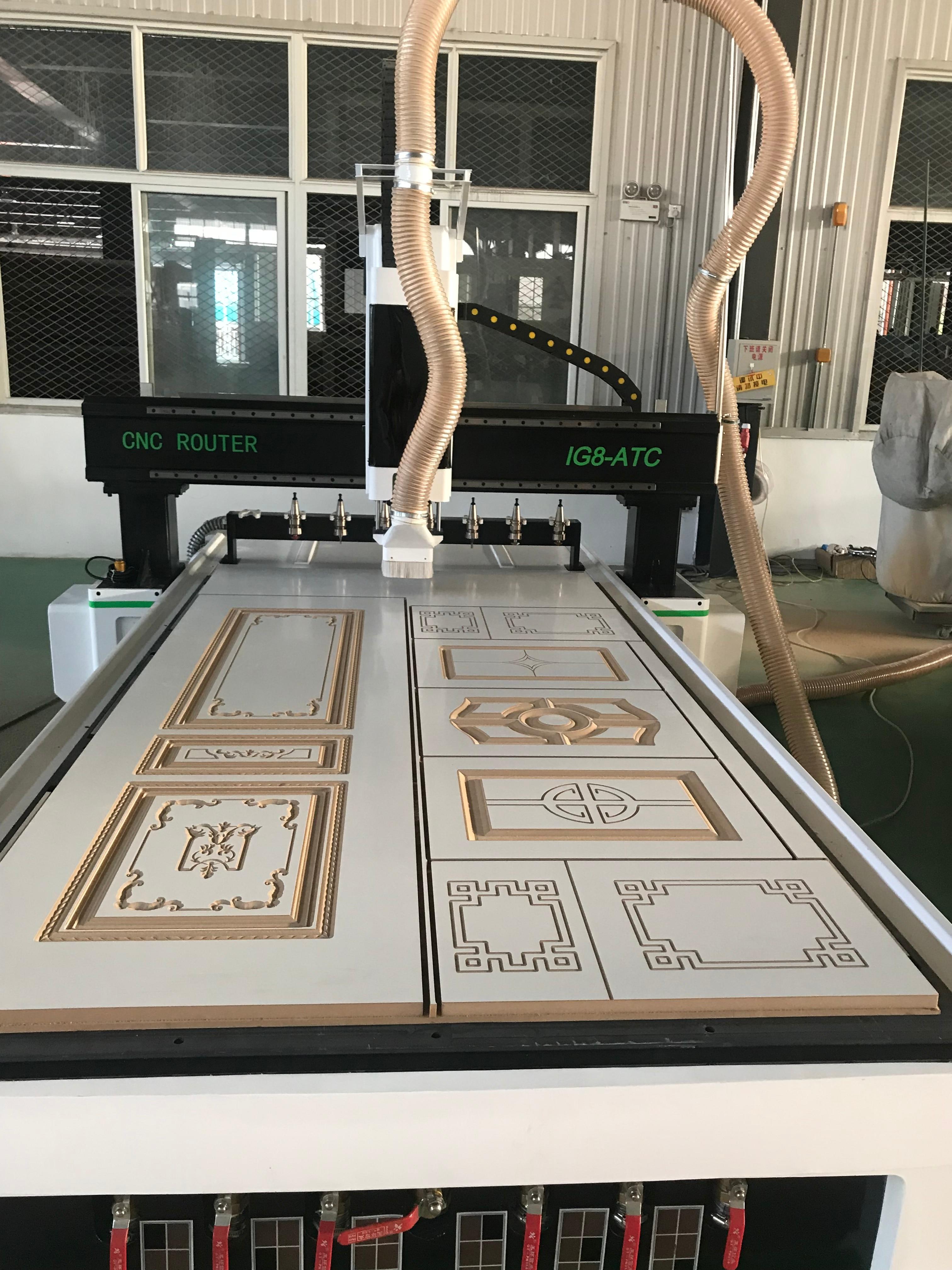 3 Axis Cnc Machining Center Atc Cnc Wood Working Machinery