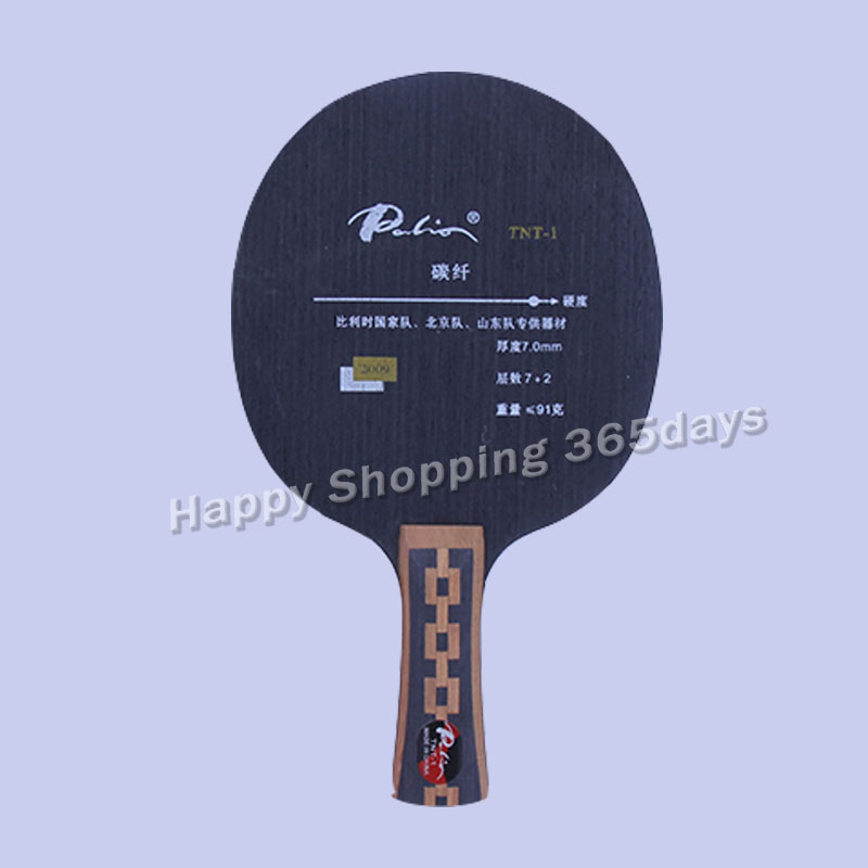 Original Palio TNT-1 Table Tennis Blade Quick Attack Looping Carbon Ply7+2 Table Tennis Racket Indoor Sports Racquet Sports