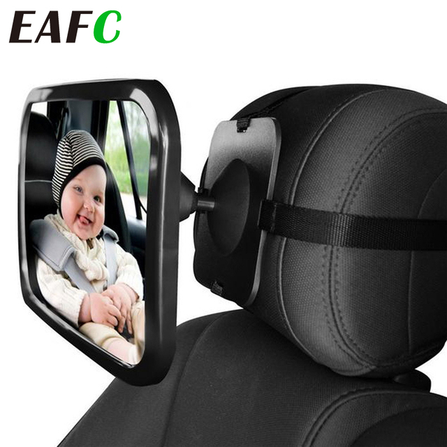Baby Car Mirror Adjustable Car Back Seat Rearview Facing Headrest Mount Child Kids Infant Baby Safety Monitor Accessories 1