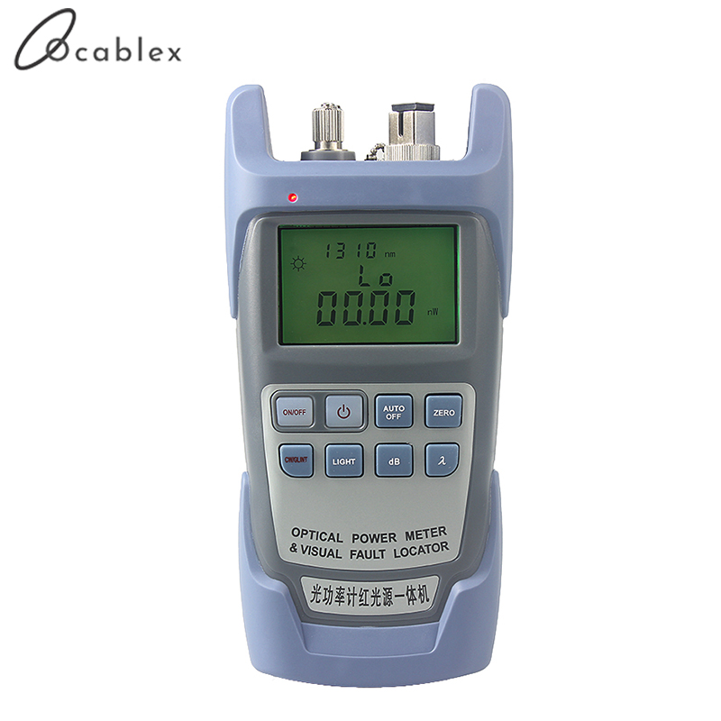 Image 4 - AUA 9 Laser Power FTTH Fiber Optic Optical Power Meter Cable Tester Free DeliveryFiber Optic Equipments