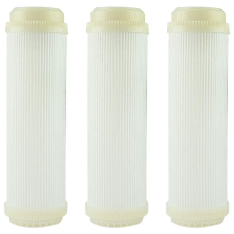 3PCS 10 Inch Flat Type UF Hollow Fiber Ultrafiltration Membranes Filter 0.01 Micrometre High Flow 180 L/Membrane UF Dry