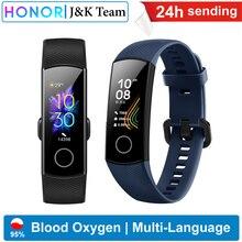 Huawei Honor band 5 Smart Band Global Version Blood Oxygen smartwatch AMOLED Huawei smart band heart rage ftness sleep tracker