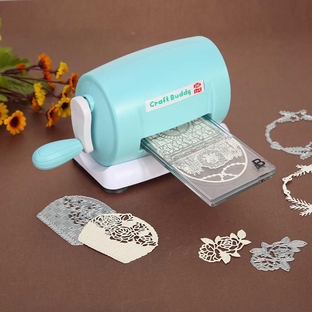 Sterben-Cut Maschinen Stirbt Schneiden Präge Hause DIY Scrapbooking Papier Cutter Kunststoff und Metall Tragbare Werkzeug Form Maschine
