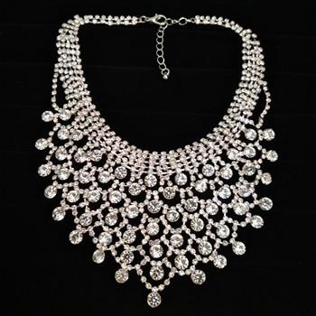 Свадебные ожерелья CORUIXI, вечерние аксессуары, роскошные свадебные украшения, сверкающие стразы, аксессуары, вы звезда H93116, алиэкспресс на русском в рублях