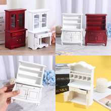 Cupboards Furniture-Accessories Cabinet Kitchen with Drawer 1/12 Dollhouse-Furniture