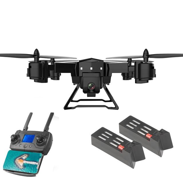 KY601G طوي الطائرة بدون طيار مصباح ليد ذكي واي فاي 4K كاميرا التحكم عن بعد المزدوج لتحديد المواقع FPV أجهزة الاستقبال عن بعد الطائرات لعب طفل