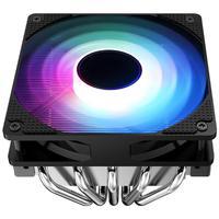 Jonsbo 12cm Colorful Lighting CPU Cooling Fan CR 701 PWM 4Pin 5 Heatpipes Quiet Computer Cooler Heatsink for Intel/AMD