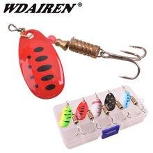 5 шт/лот wdairen рыболовная ложка набор металлическая блесна