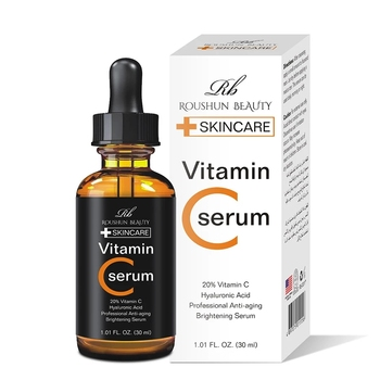 Vitamin C Serum Skin Care Facial Essence Whitening Cream Hyaluronic Acid Professional Anti-Aging Brightening Serum laikou serum japan sakura essence anti aging hyaluronic acid pure 24k gold whitening vitamin c the ordinary skin care face serum