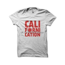 Uomo T Shirt Tee Shirt Californication-Red Hot Pepper Bianco Choli Delle magliette Delle Donne di T-Shirt(China)