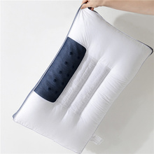 Cassia Bed Pillows For Sleeping 100% Cotton Cover With Filling Bilateral Cassia Pillow Core Magnet Pain Neck For Pillow Cervical