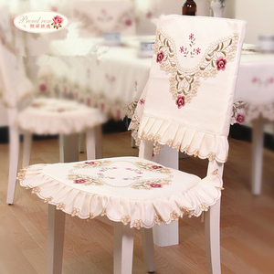 Image 4 - Proud Rose Rural Style Tablecloth  Rectangle Table Cover TV Ark Cover Cloth Embroidered Tablecloth Wedding Table Cloth