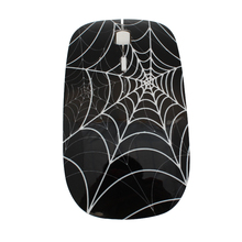 Wireless Mouse Web-Ergonomic Spider Computer Laptop Optical 1600DPI Protable Ultra-Thin