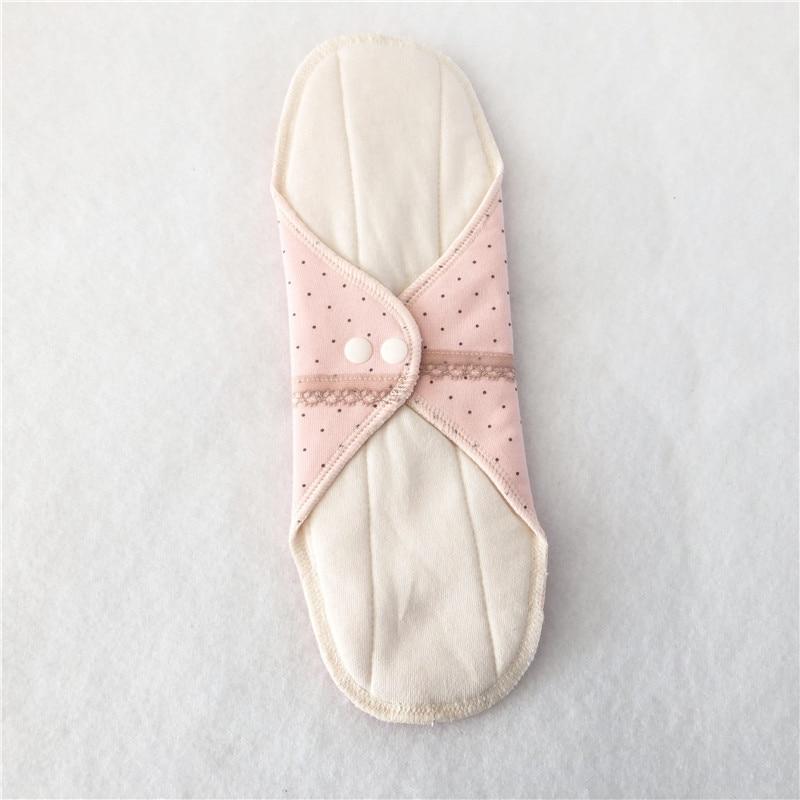 1pcs Reusable Sanitary Menstrual Mama Pad Reusable Soft Cotton Cloth Towel Pads Feminine Hygiene Panty Liner Diaper Panty Pads