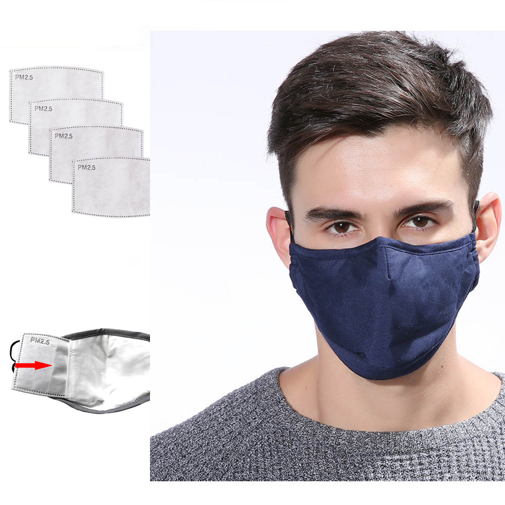5 Layers Carbon Filter Face PM2.5 Anti Dust Mask Activated Insert Protective Filter Media Insert For Mouth Mask Proof Flu Masks