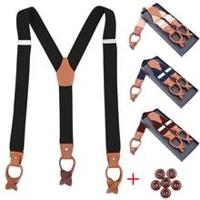 Suspenders Braces Trousers-Pants Shirt Strap Belt Tirantes Bretelles Men for Adjustable