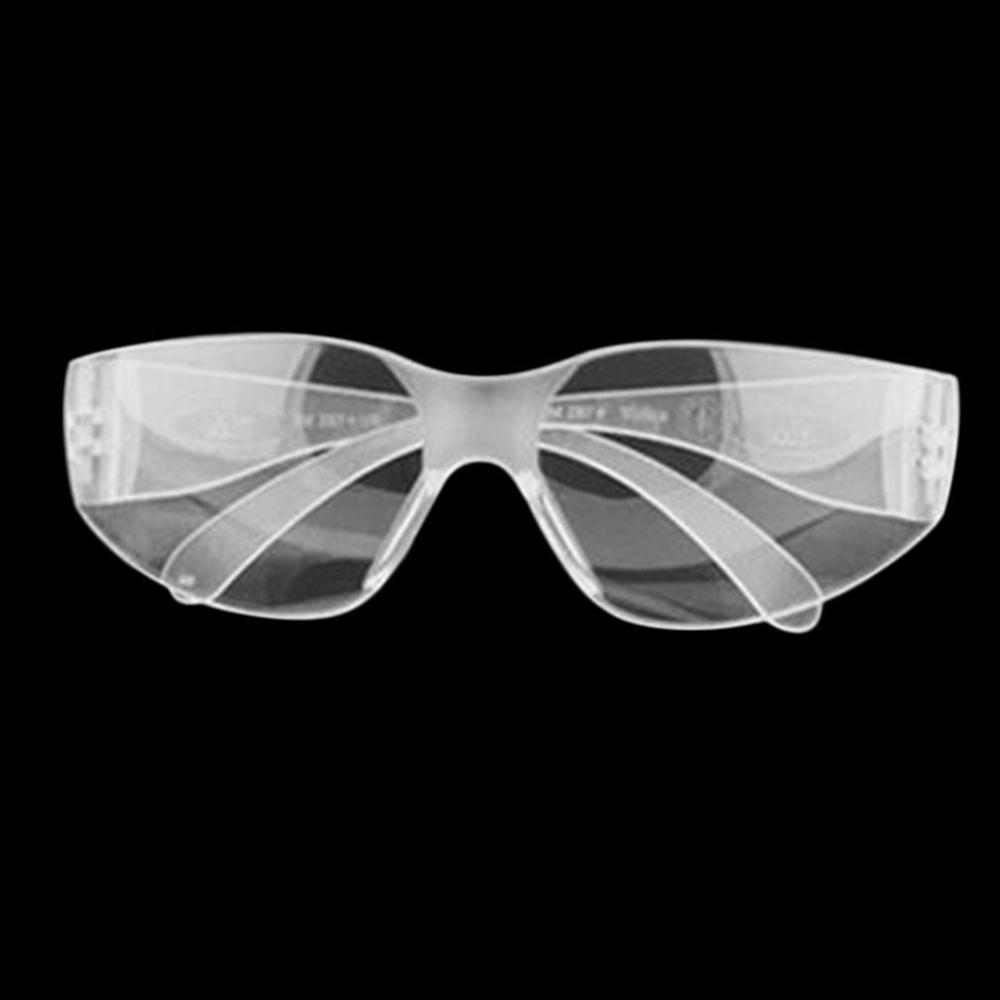 Safety Glasses Lab Eye Protection Clear Lens Protective Eyewear Workplace Safety Goggles Anti-dust Supplies