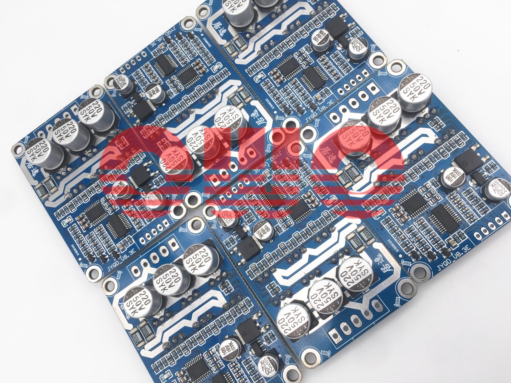 6 pieces Original JUYI Tech JYQD-V8.3E bldc motor driver board for sensorless brushless DC motor