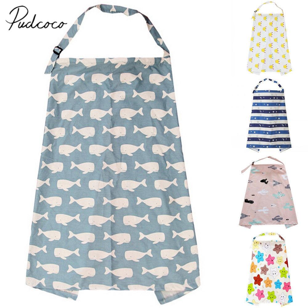 Breastfeeding Cover Feeding Baby Nursing Apron Women Mum Shawl Clothes Cotton Blanket Cloth Fashion Mommy Apron