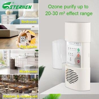 цена на STERHEN easy to carry ozone generator air purifier Deodorizer Ozone Home Sterilizer Ozone Deodoriser For Kitchen Bathroom