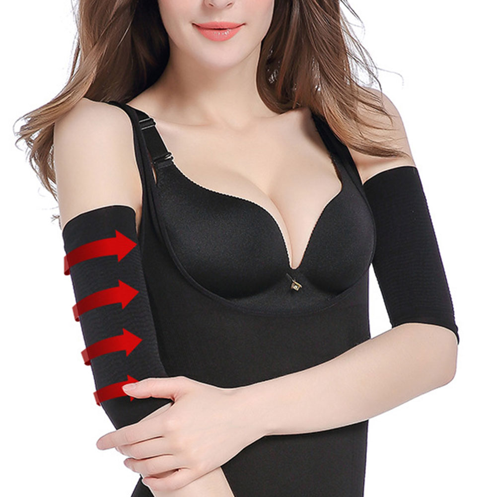 Newly Compression Slim Arms Sleeve Shaping Arm Shaper Upper Arm Supports Women DOD886