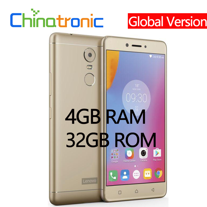 Global Version Lenovo K6 Note K53a48 4GB 32GB 4G FDD LTE Mobile Phone 5 5 FHD Innrech Market.com
